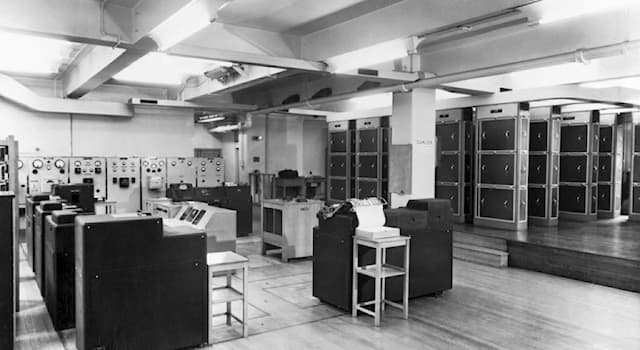 Society Trivia Question: Where was the world's first business computer installed?