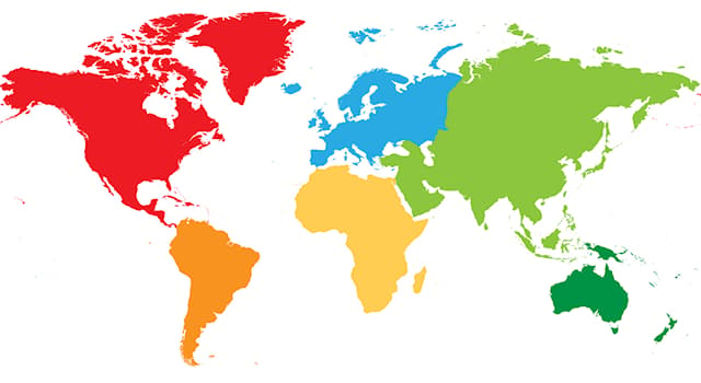 Geography Trivia Question: Which continent has land in all four hemispheres?