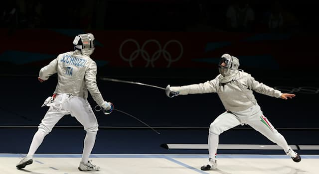 Sport Trivia Question: Which of these fencers had won three Olympic gold medals by the year 2021?