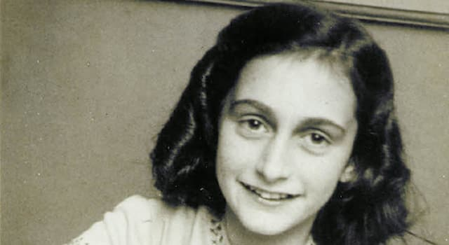 History Trivia Question: Which of these statements is wrong about the diarist Anne Frank?