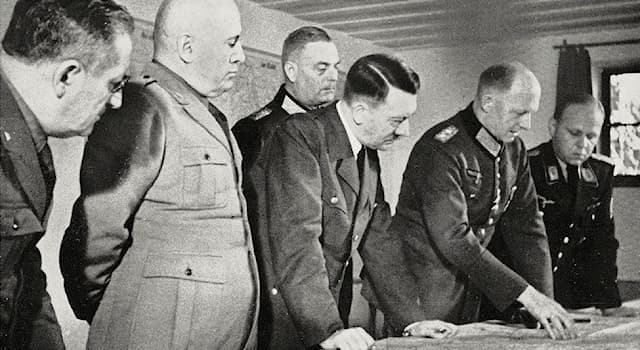 History Trivia Question: Which one of these German officers carried a bomb to Wolf's Lair, intending to assassinate Hitler?