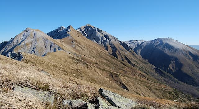 Geography Trivia Question: Which peak is, at 1,886 m (6,188 ft) above sea level, the highest in the Massif Central, France?