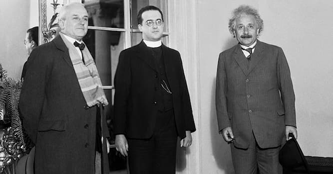 Science Trivia Question: Who first proposed the Big Bang Theory?