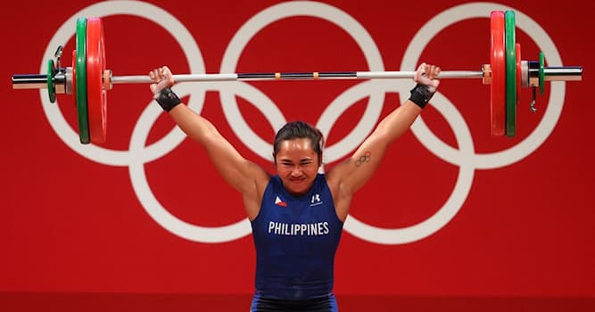 Sport Trivia Question: Who was the first Filipino to win an Olympic Gold Medal for the Philippines?