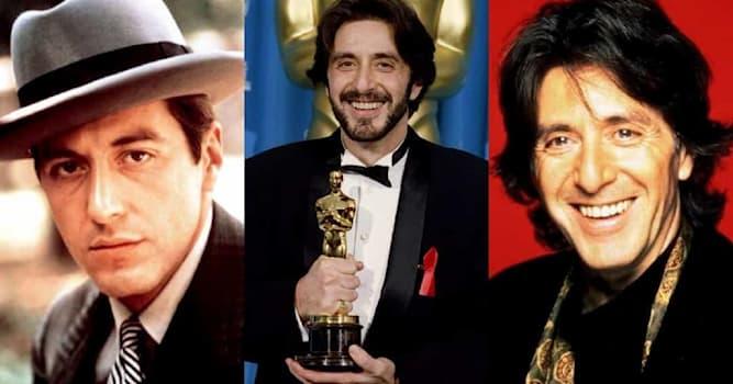 Кино Вопрос: За участие в каком фильме актер Аль Пачино получил свой единственный Оскар?
