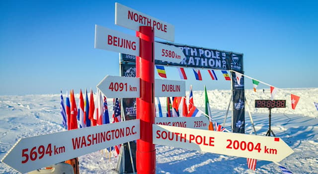 Geography Trivia Question: As of 2017, the nearest permanently inhabited place of land closest to the North Pole belongs to what nation?