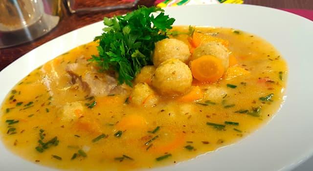 Culture Trivia Question: Bori-bori soup is a traditional dish of which country?