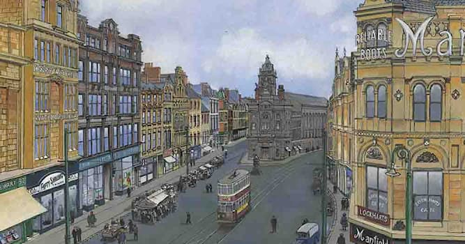 Geography Trivia Question: Famous for its bars and restaurants, which northern English city has an area called Bigg Market?