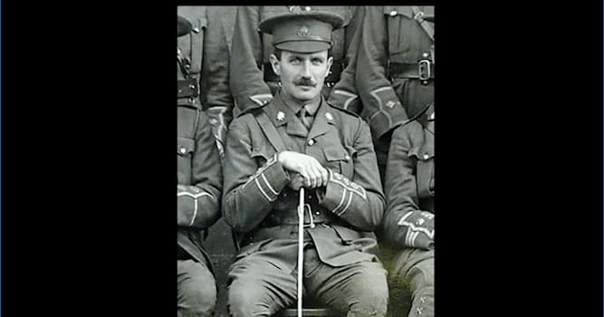 History Trivia Question: For what reason was Captain Robert Campbell famous during the First World War?