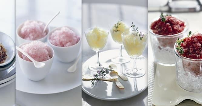 Culture Trivia Question: From which region of Italy does the semi-frozen dessert called granita originate?