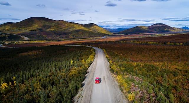 География Вопрос: Где находится это шоссе Далтон, длиной 666 километров, признанное одной из самых опасных дорог мира?