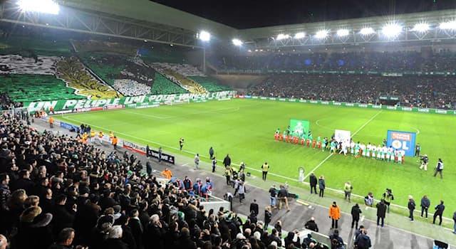 """Спорт Вопрос: Где находится многофункциональный стадион """"Жоффруа Гишар""""?"""