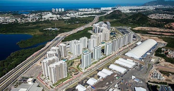 Спорт Вопрос: Где находится Олимпийская деревня (фото), предназначенная для участников Летних Олимпийских игр 2016?