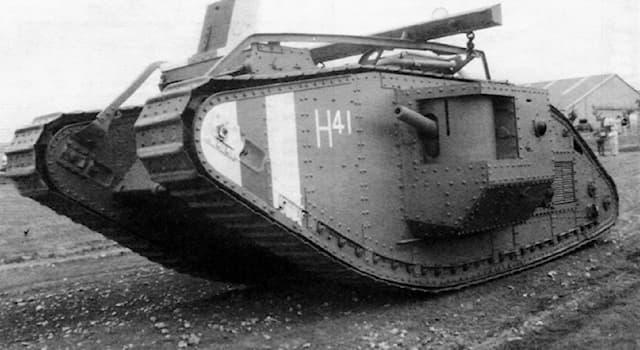 История Вопрос: Где произошло первое танковое сражение?