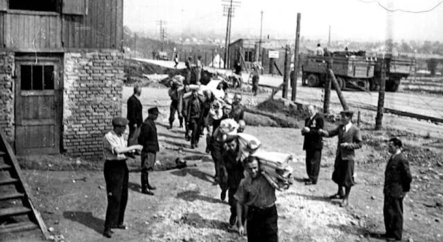 History Trivia Question: Gulags were forced labour camps in which country?