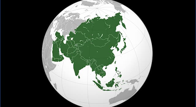 Geography Trivia Question: How many Asian countries lie wholly in the Southern Hemisphere?