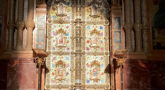 """Culture Trivia Question: How many doors does the """"iconostasis"""" in an Eastern Christian church normally have?"""