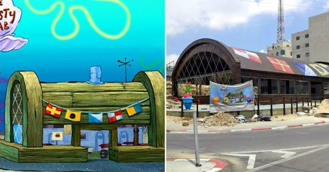 History Trivia Question: In 2014, where did a real-life Krusty Krab restaurant open?