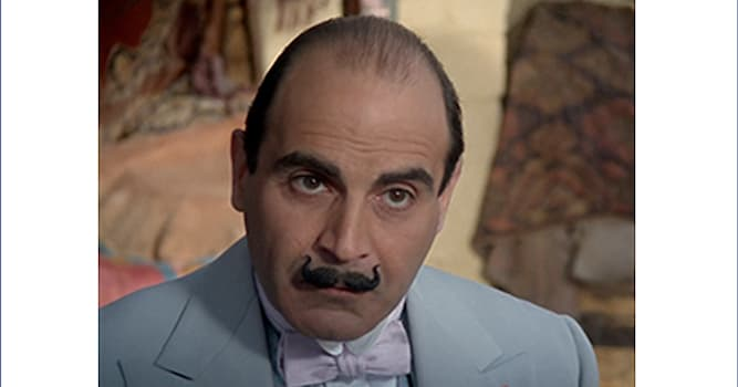 Culture Trivia Question: In Agatha Christie's works, which languages does Hercule Poirot speak, in addition to French and English?