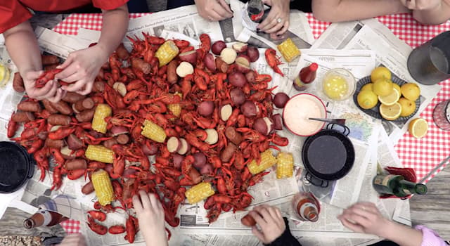 """Culture Trivia Question: In Cajun cuisine, what crustaceans are often referred to as """"mudbugs""""?"""