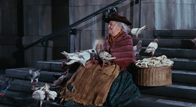 Movies & TV Trivia Question: In the film 'Mary Poppins', how much was a bag of birdseed?