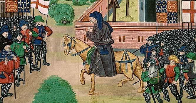 History Trivia Question: In which century did Wat Tyler's Rebellion take place?