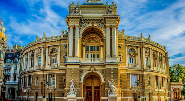 Culture Trivia Question: In which city would you find this Opera and Ballet theatre?