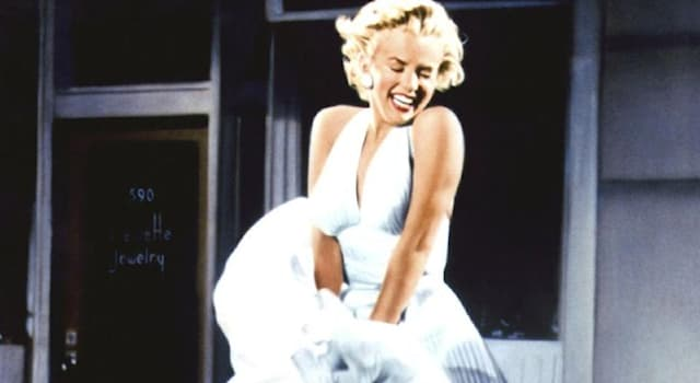 Movies & TV Trivia Question: In which film did Marilyn Monroe wear her iconic and famous billowing white dress?