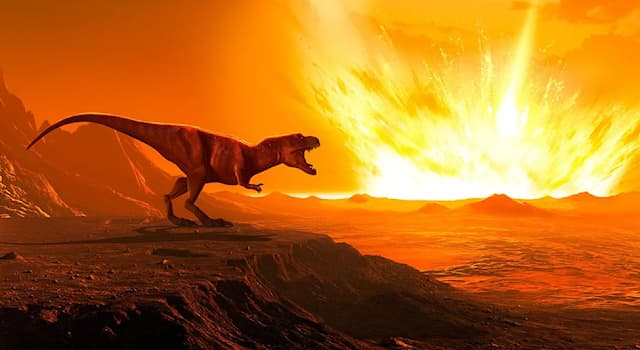 Geography Trivia Question: In which modern-day country did the meteor hit, which allegedly killed the dinosaurs?