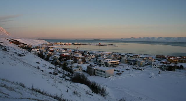 Geography Trivia Question: In which Nordic country would you find the town of Sauðárkrókur?