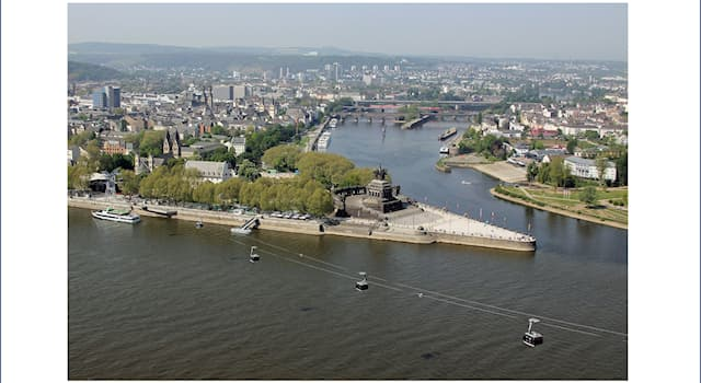 Geography Trivia Question: In which of these cities is German Corner?