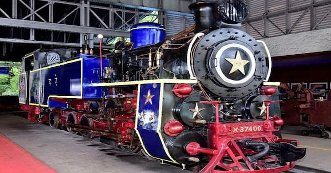 Society Trivia Question: In which railway section in India is this new indigenous metre gauge steam engine under test trials?