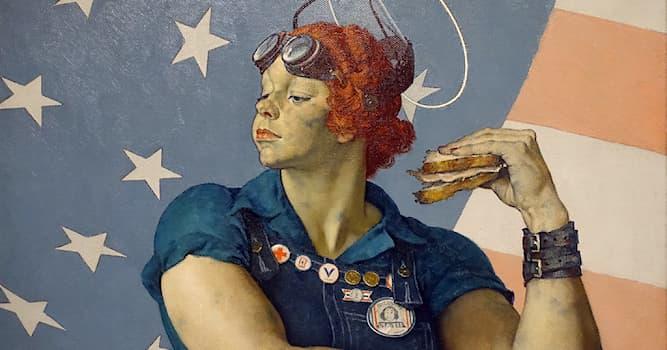 Культура Вопрос: Как называется эта картина американского художника и иллюстратора Нормана Роквелла, написанная в 1943 году?