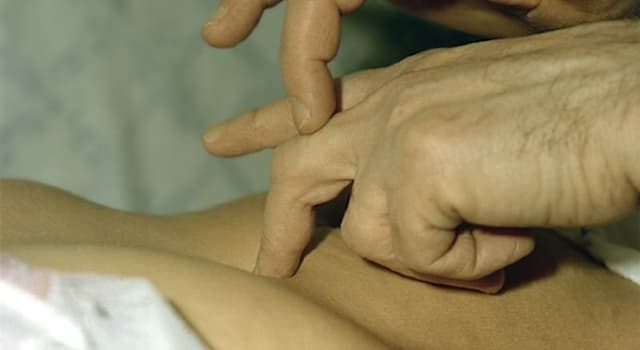 Наука Вопрос: Как называется метод медицинской диагностики, основанный на постукивании по поверхности тела человека?