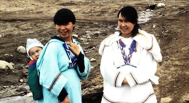 Культура Вопрос: Как называется национальная куртка инуитских женщин в Арктике?
