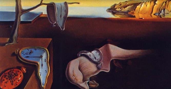История Вопрос: Как называется одно из известнейших произведений Сальвадора Дали?