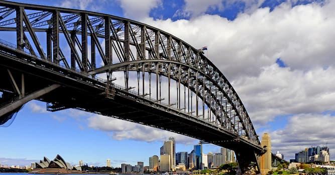 География Вопрос: Как называется самый большой мост Сиднея?