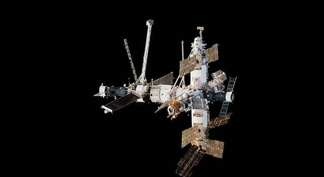 Наука Вопрос: Как называлась первая многомодульная орбитальная станция, функционировавшая с 1986 года по 2001 год?