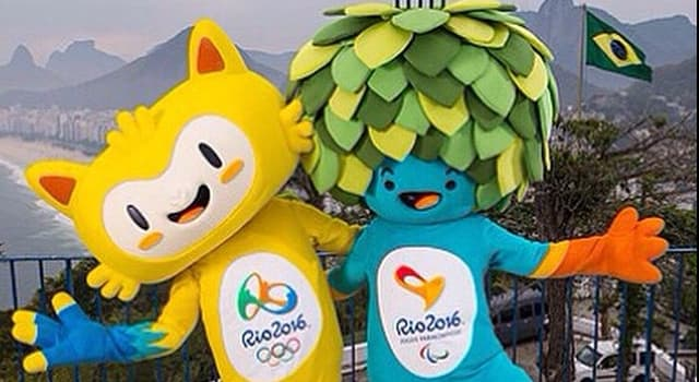 Спорт Вопрос: Как назывались официальные талисманы летних Олимпийских и Паралимпийских игр 2016 в Рио-де-Жанейро?