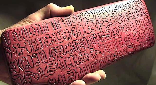 История Вопрос: Как называются деревянные дощечки с письменами жителей острова Пасхи, обнаруженные в 1864 году?
