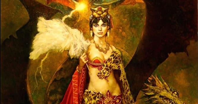 История Вопрос: Как в Древнем Двуречье называлась богиня плодородия и любви?