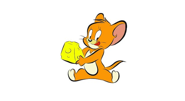 Кино Вопрос: Как зовут коричневого антропоморфного мышонка из одноименного мультфильма, убегающего от кота Тома?