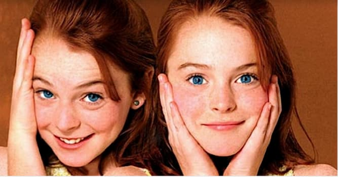 """Кино Вопрос: Как звали двух близнецов из фильма """"Ловушка для родителей"""" (1998)?"""