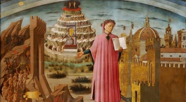 """Культура Вопрос: Какая известная поэма делится на три части — """"Ад"""", """"Чистилище"""" и """"Рай""""?"""