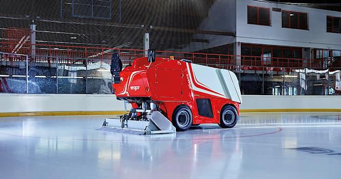 Спорт Вопрос: Какая машина используется для восстановления льда на катках?