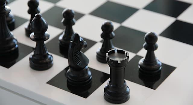 Спорт Вопрос: Какая шахматная фигура может двигаться на любое число полей по горизонтали или по вертикали?