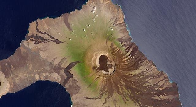 География Вопрос: Какое утверждение о вулкане Вулф в архипелаге Галапагос является верным?