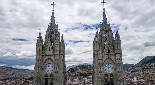 География Вопрос: Какой из этих городов расположен в Южной Америке?