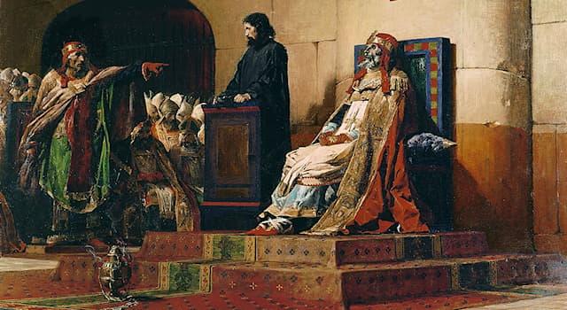 История Вопрос: Какой Римский Папа инсценировал суд над трупом своего предшественника?