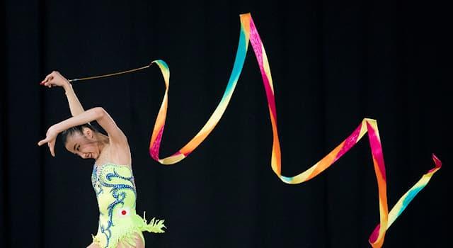 Спорт Вопрос: Какова длина ленты, используемой в художественной гимнастике?